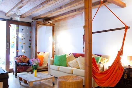 Habitacion doble y acogedora - Barcelona