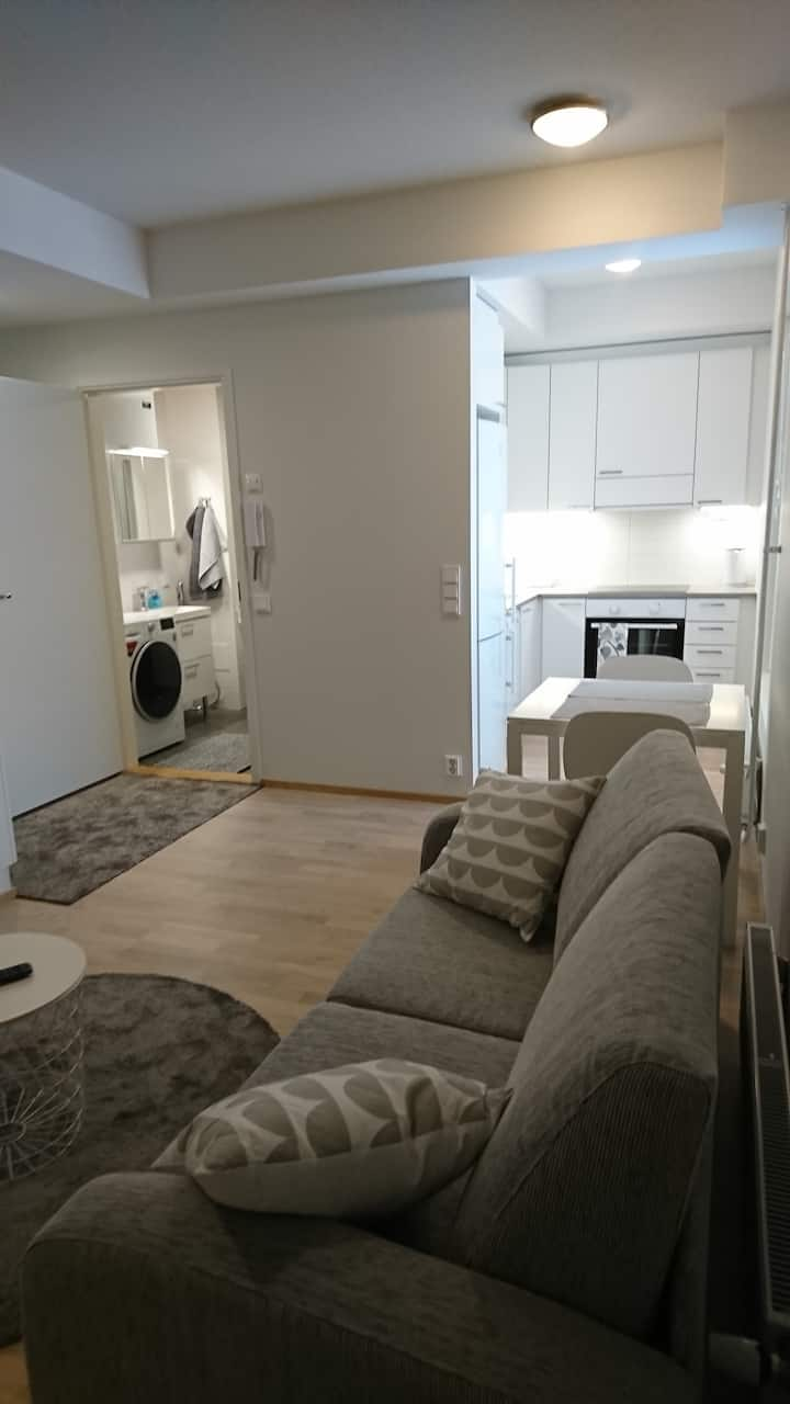 New Studio modern conveniences, close city center.