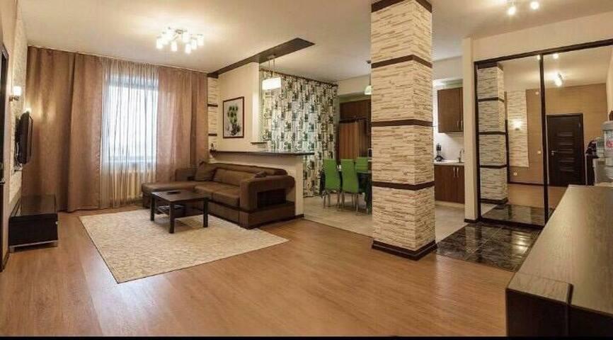 2 х комн. люкс апартаменты в ЖК Нурсая-Бонита