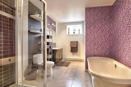 Private room and bathroom - Contrecoeur - Σπίτι