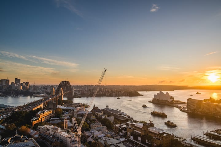 Amazing Harbour Bridge View 1Bed APT at The Rocks