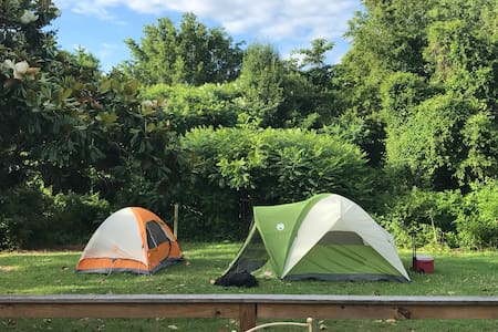 RV Parking and/or Tent camping -outside space only