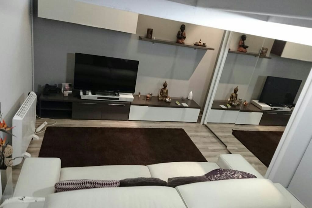 Amazing loft with big garage lofts for rent in for Big garage for rent