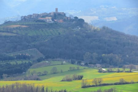 B&B il borgo sulla collina-The view - Perugia - Bed & Breakfast
