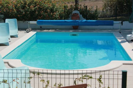 Vacations- House with swimming pool - Moçarria Santarém