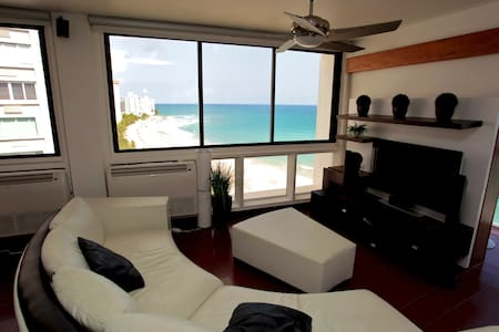 Beachfront 3 Bedroom Apt. - Condado - San Juan