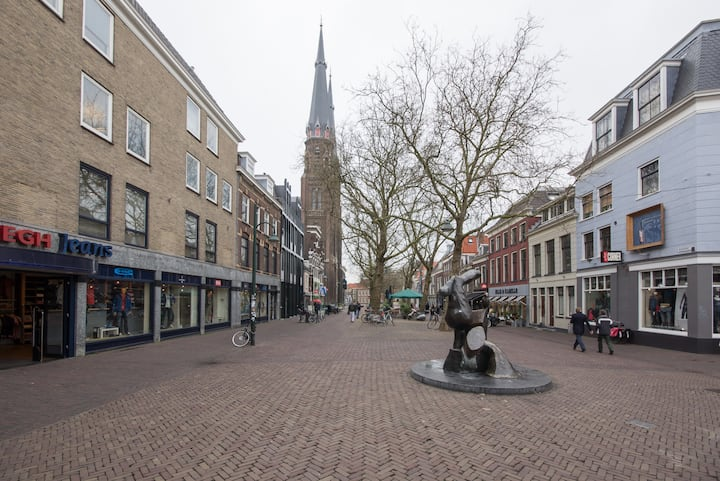 Apartment perfect location center of Delft! I