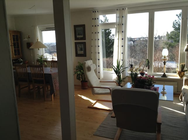Central, cosy and quiet. Much sun. - Arendal - Townhouse