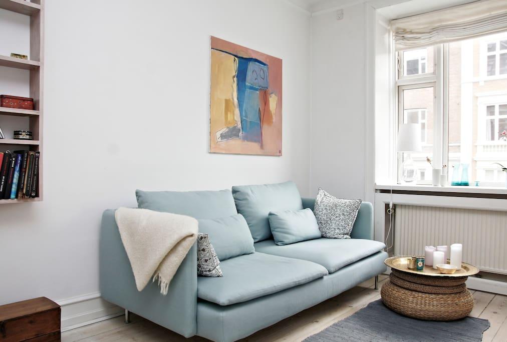 The single sofa-bed.