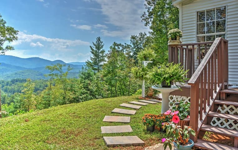 2BR Smoky Mountains House w/Panoramic Views! - Otto - Huis