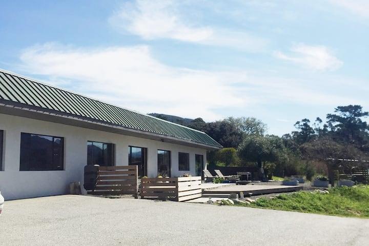 Carmel Valley Earth Berm Eco-Friendly Family Home