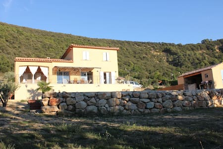 Villa avec piscine et grandes terrasses - Oraison - Villa