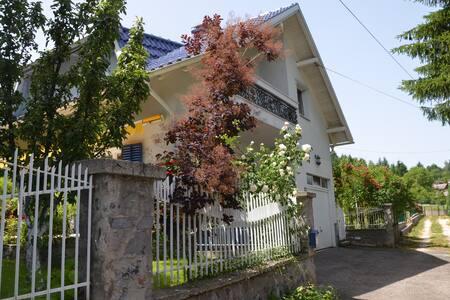 Retreat to charming house & garden near Sarajevo