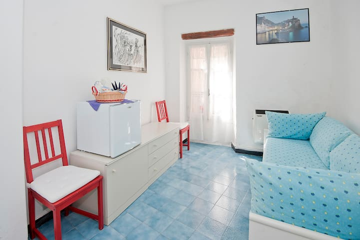 cozy room in the historical caruggi - Vernazza - Apartemen