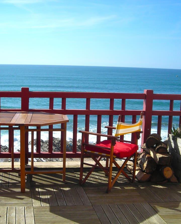Beachfront flat, Bidart plage