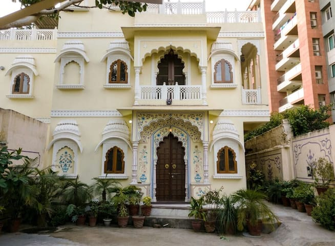 The haveli ,studio room with terrace   (c scheme )