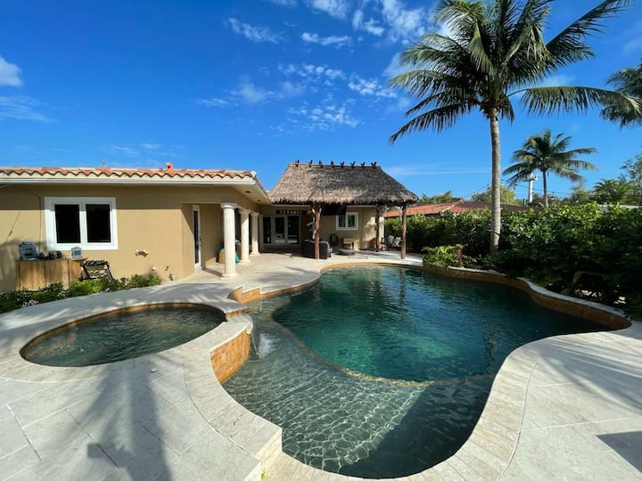 WATERFRONT BEACH VILLA WITH POOL and WATERSPORTS