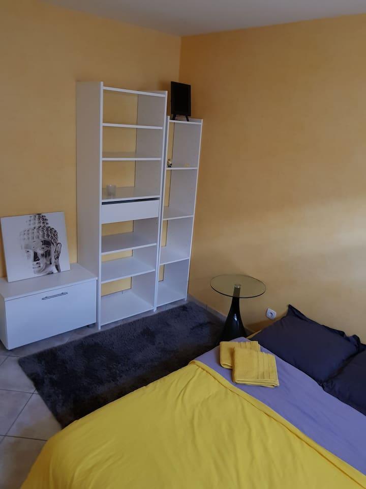 Chambre 11 m2 avec dressing