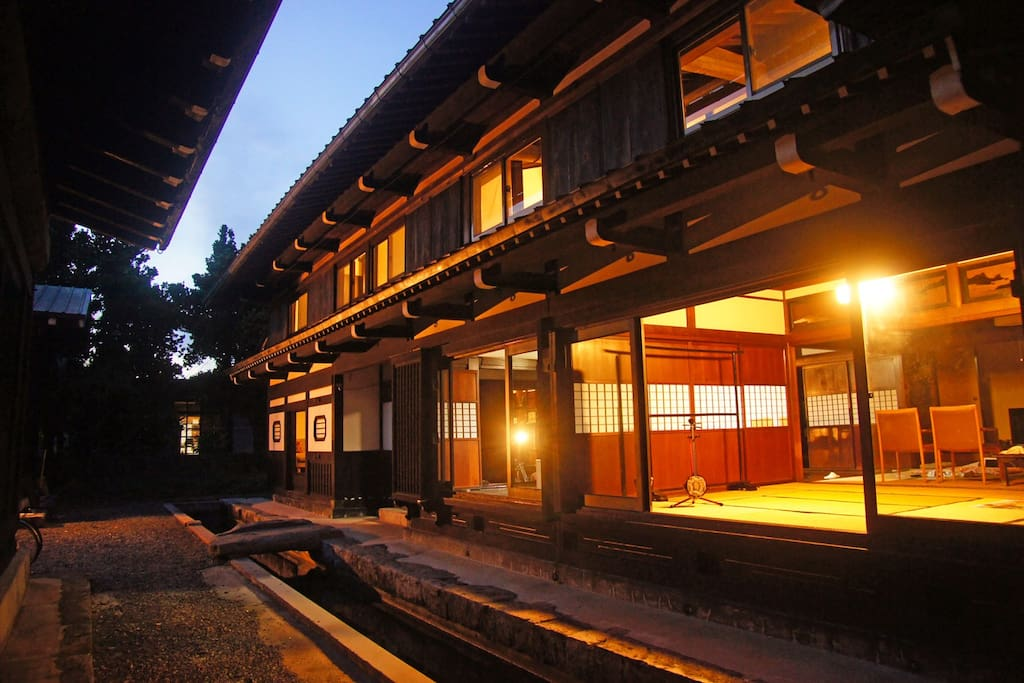 A traditional 100 years old Japanese house