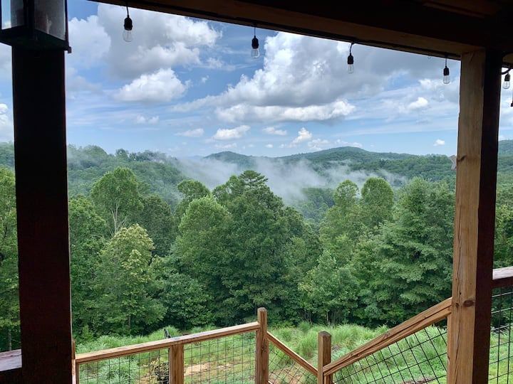 3 BR Cabin+Awesome Views+Close to all activities