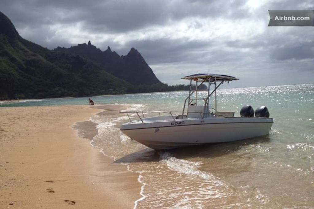 Napali Boat Trips available