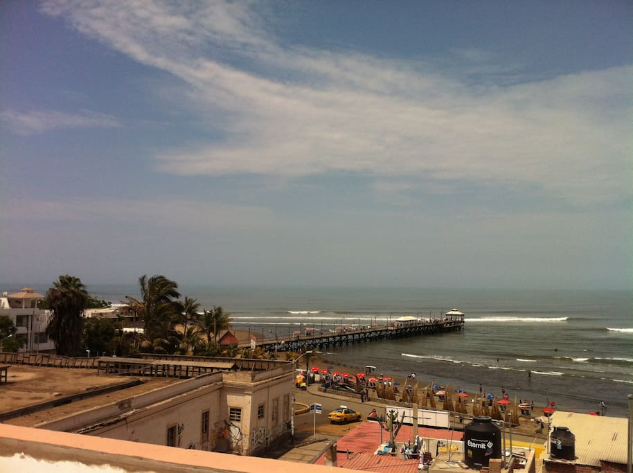 The fishing pier in Huanchaco