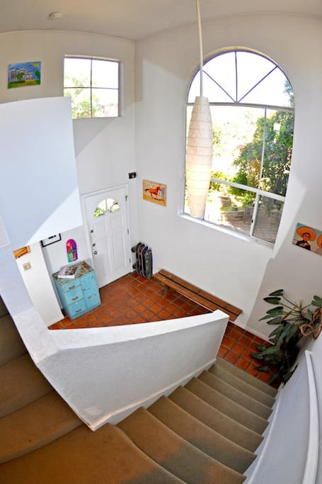 Entry way, 2nd story view