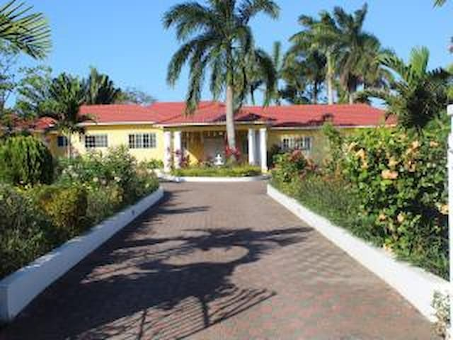 Main Entrance leading into Villa Loyola