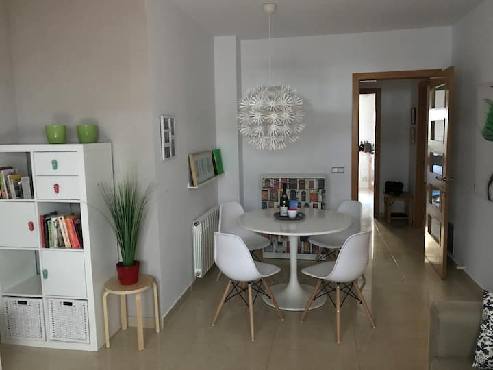 Ideal location, 100 m from beach