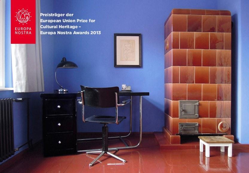 Kleiner Arbeitsplatz Im Großen Schlafzimmer   Alle Farben Und Möbel  Original Aus Den 1920er Jahren