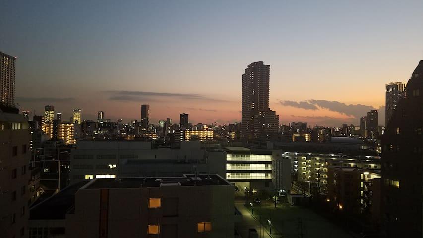 Shinjuku Private Condo w/View 10F Near Kagurazaka