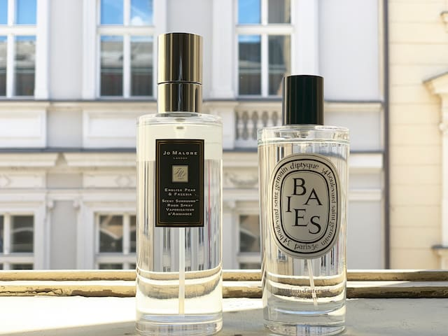 Home scents from Jo Malone and Diptyque