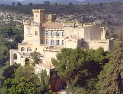 Chateau de La Barben, close to Aix  - La Barben