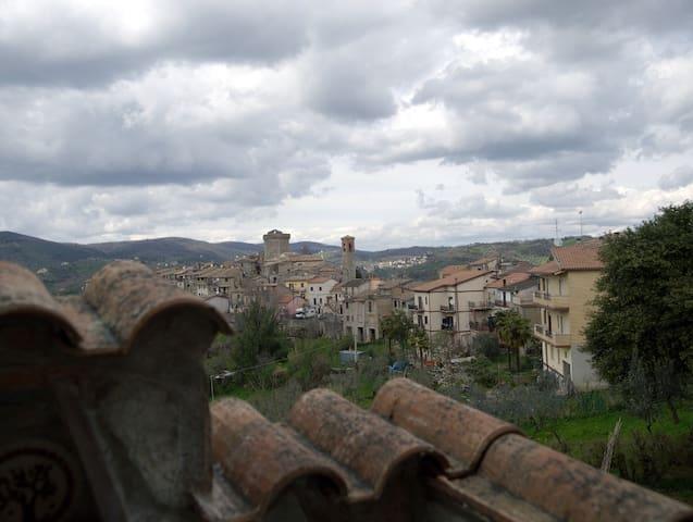 casa in campagna vicino roma e riet - Ginestra Sabina - Apartamento