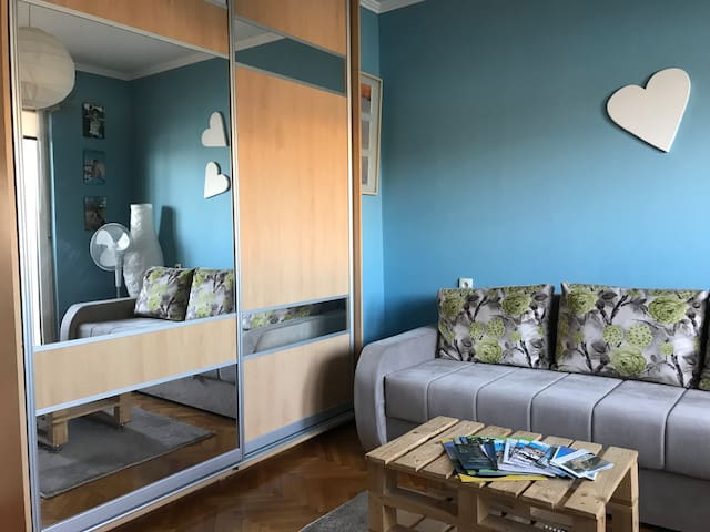 Recently renovated room with Danube view