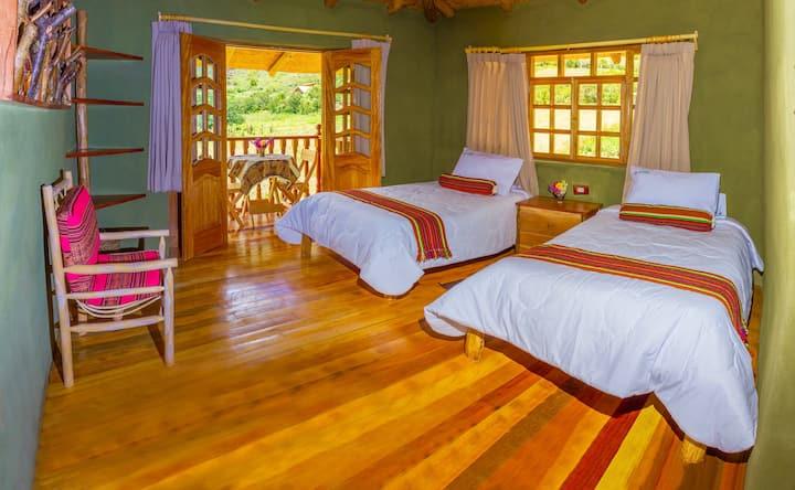 Maras Deluxe Twin Room