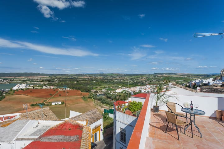 Pretty Apt - HUGE Roof Terrace - Arcos de la Frontera - Apartment