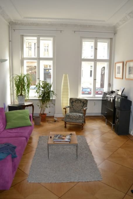 Nice urban flat berlin center apartments for rent in for Urban sofa deutschland