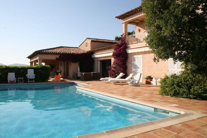 Luxury SEA VIEW Villa near St. Tropez