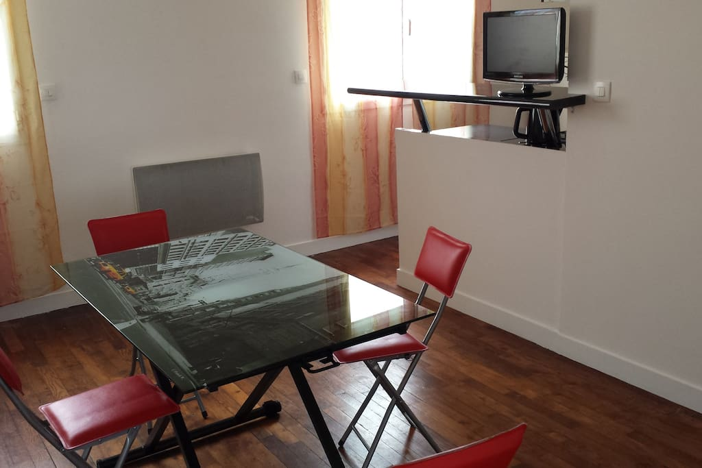 Terre et mer appartements louer guidel bretagne france - Table salon rehaussable ...