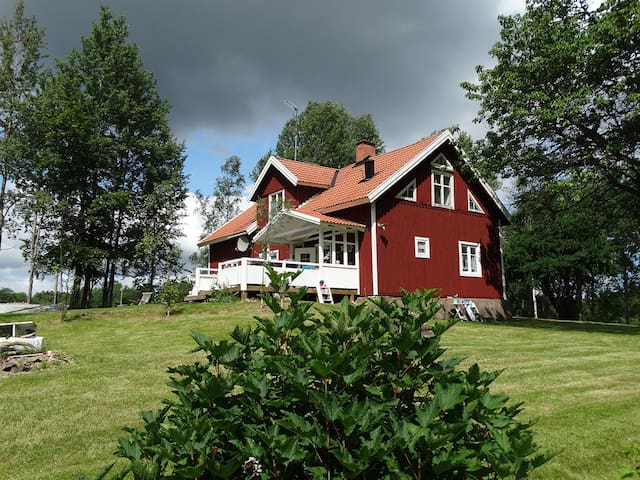 Southern of Sweden, Smaland, Flybo Sjöaborg - Åseda - House