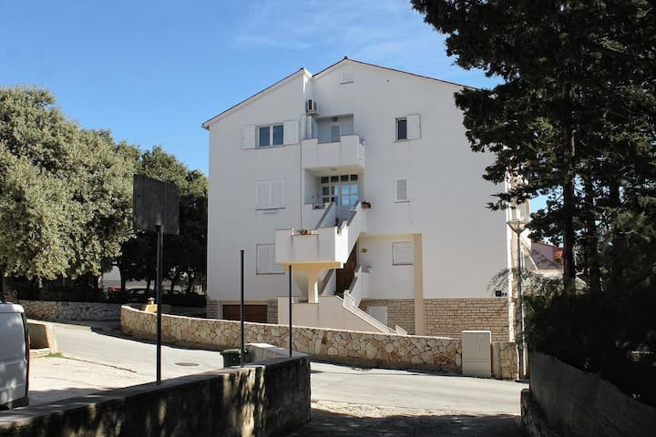 Studio flat with air-conditioning Novalja (Pag) (AS-12413-c)