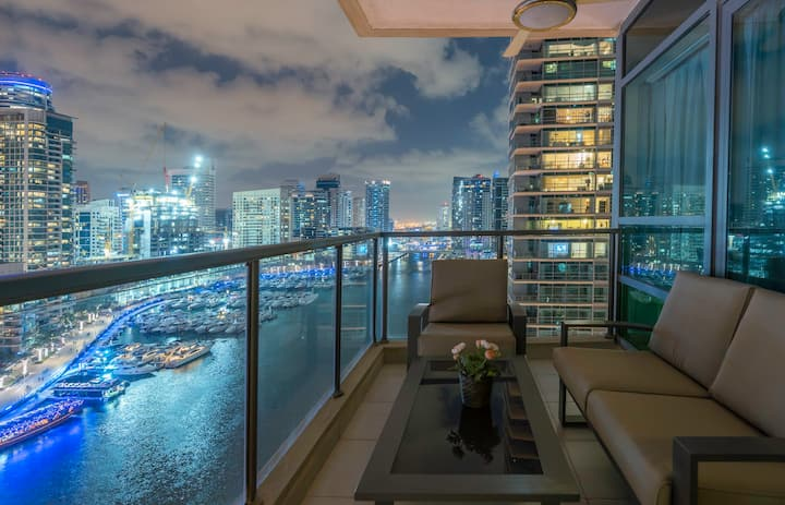 ★ Splendid Apt with Breathtaking Dubai Marina View!