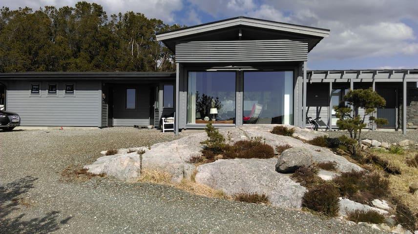 Stort feriehus med flott utsikt på Kråko