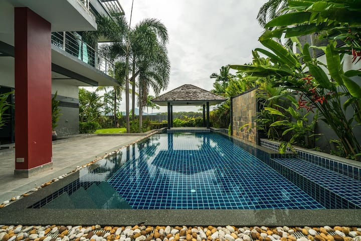 Diamond 248 - Modern private pool villa in BangTao