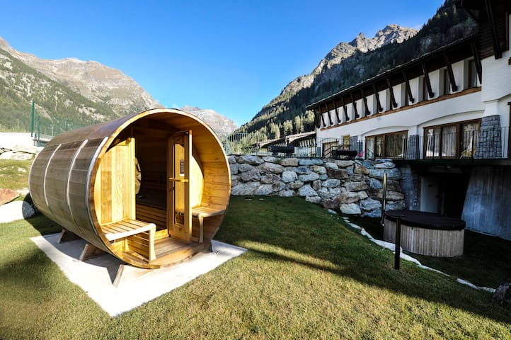 Dufour - Lovely studio for 2 people, Gressoney
