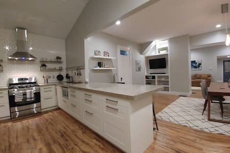 Gorgeous, open, modern Fountain Square home.