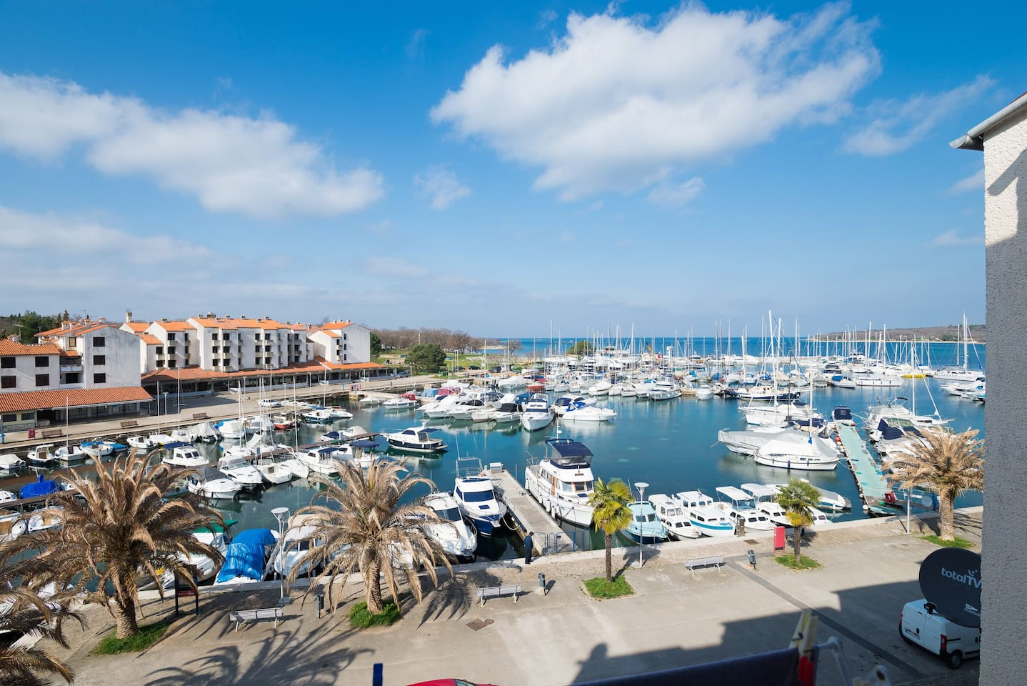 Fantastic view on marina from loggia picture 1