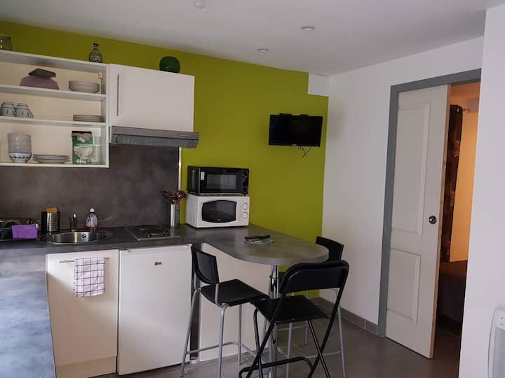 Appartement neuf rez de chaussée-petite cour