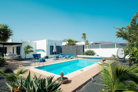 """Villa """" El Pescador """", Playa Blanca-Marina Rubicón"""
